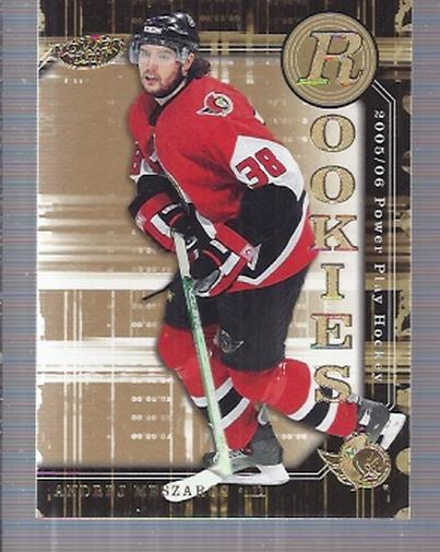 2005-06 Upper Deck Power Play #170 Andrej Meszaros RC