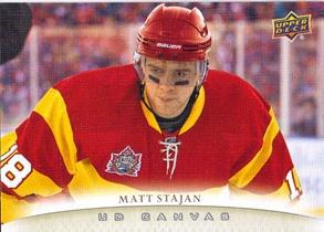 2011-12 Upper Deck Canvas #C19 Matt Stajan