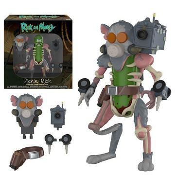 ACTION FIGURE RICK AND MORTY - PICKLE RICK