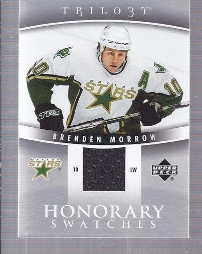 2006-07 Upper Deck Trilogy Honorary Swatches #HSBM Brenden Morrow