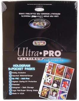 UP PAGE 9 POCKETS HOLOGRAM 100CT