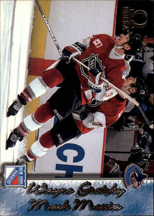 1997-98 Pacific Omega #250 Wayne Gretzky/Mark Messier