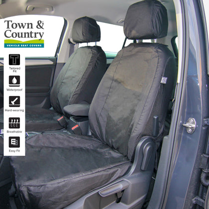 Volkswagen Tiguan Waterproof Seat Covers by Town & Country Covers