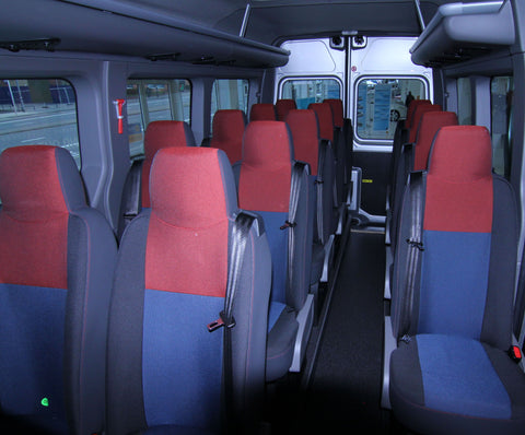 RM17 - Vauxhall Movano Minibus Seat Covers