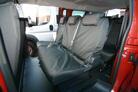 Dispatch Expert Vivaro Proace Waterproof seat covers