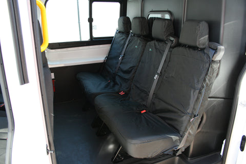 Ford transit rear seat covers waterproof
