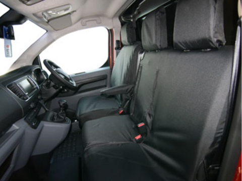 Double Seat Cover - Tailored - CP02