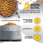 EzyDog Drive Travel Takeaway Food Bowl