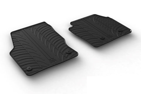 Ford Transit Connect 2016 Onwards -  Rubber Floor Mat - Town & Country