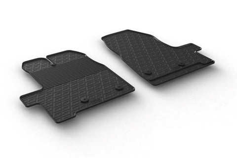 Ford Transit Mk8 - 2014 Onwards -  Rubber Floor Mat - Town & Country