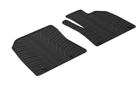 Peugeot Partner III -  Rubber Floor Mat - Town & Country