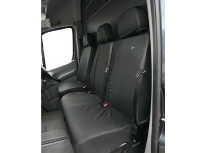 Double Seat Cover - Tailored - MERV02