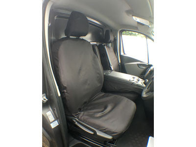 Drivers Single Seat Cover - Tailored - TV01BLK
