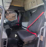 Renault - T SERIES TRUCK - Waterproof Seat Covers - FIXED HEADREST