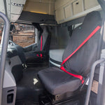 Renault - K SERIES TRUCK - Waterproof Seat Covers - FIXED HEADREST