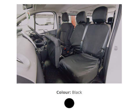 Double Passenger w/ Under Seat Storage and Two Adjustable Headrests - Tailored - TV03