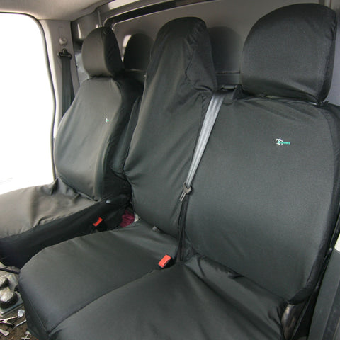 Renault Trafic Seat Covers - 2014 Onwards - Town & Country