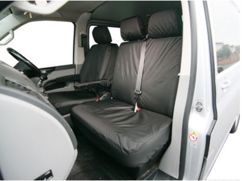VW T5 & T6 Double Seat Cover - Volkswagen - TA3891