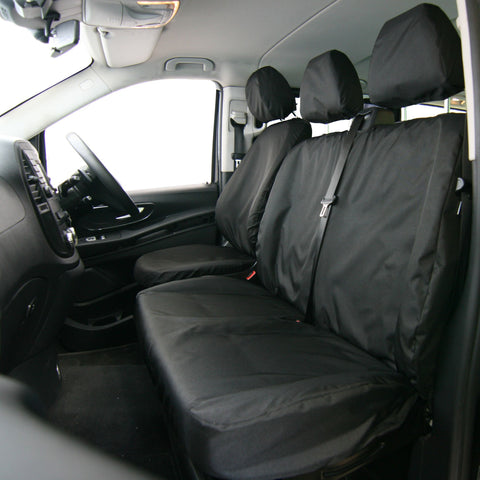 Double Seat Cover - Tailored - TA4331