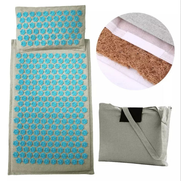 Pack Harmozen : Tapis d'accupression + coussin + sac