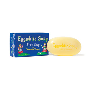 Eggwhite And Chamomile Flower Single Bar Soap