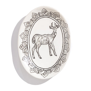PLATO PEQUEÑO DE ANIMAL DEL BOSQUE CIERVO / ANY WOODLAND ANIMAL SMALL DISH DEER