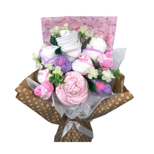 Sienna Rose Pink Flower Bouquet