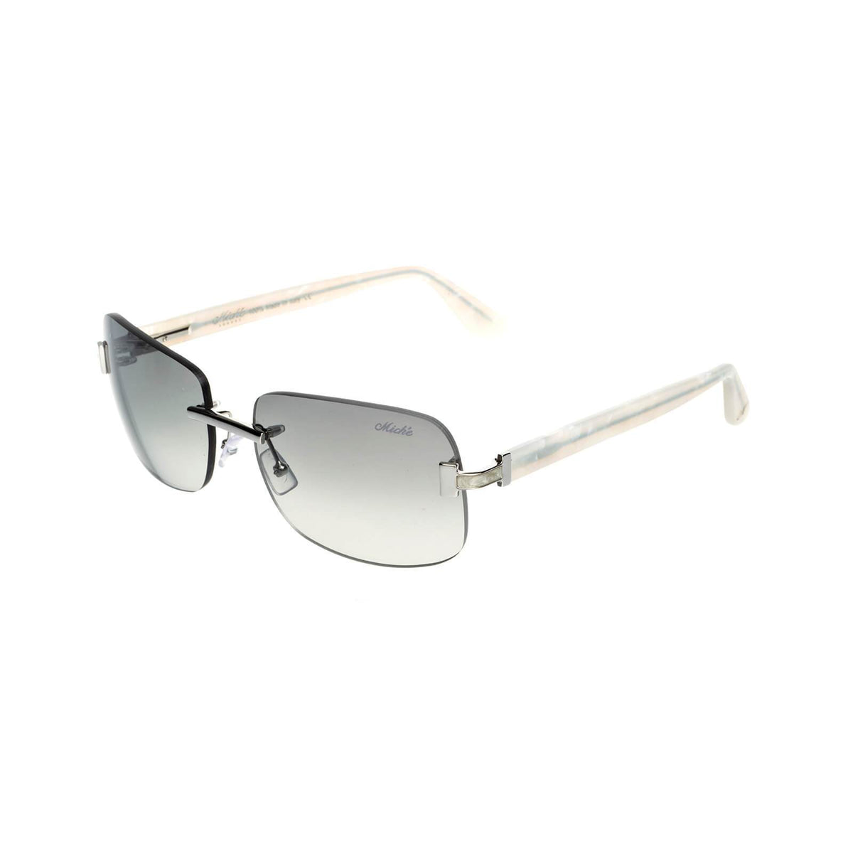 Miché Marbles Sunglasses - Grey - Silver - White