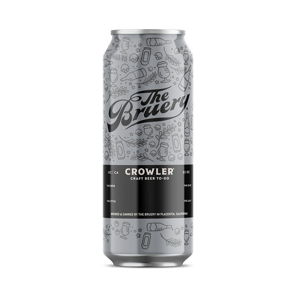 Fuzzy Blue Double BBLS Reserve - 32oz. Crowler (DC)