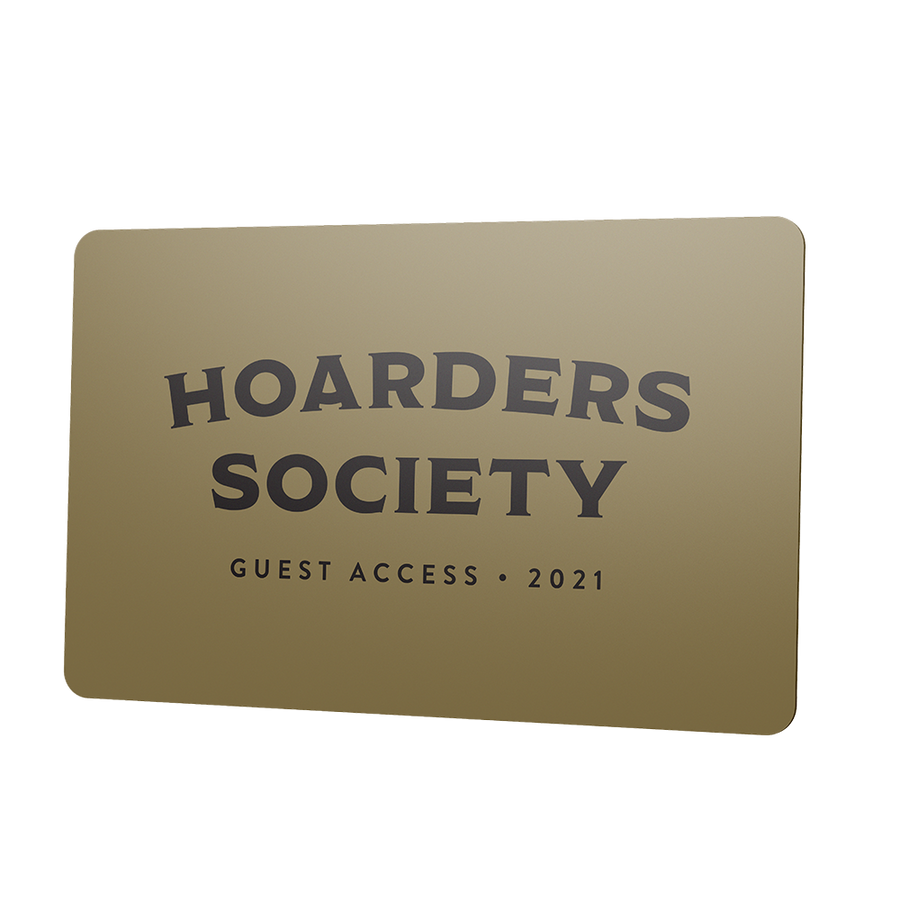 2021 Hoarders Society Guest Access Card