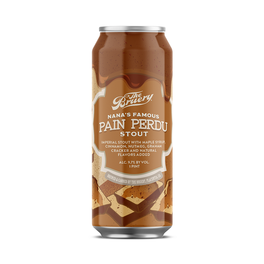 Nana's Famous Pain Perdu Stout - 16oz. Can