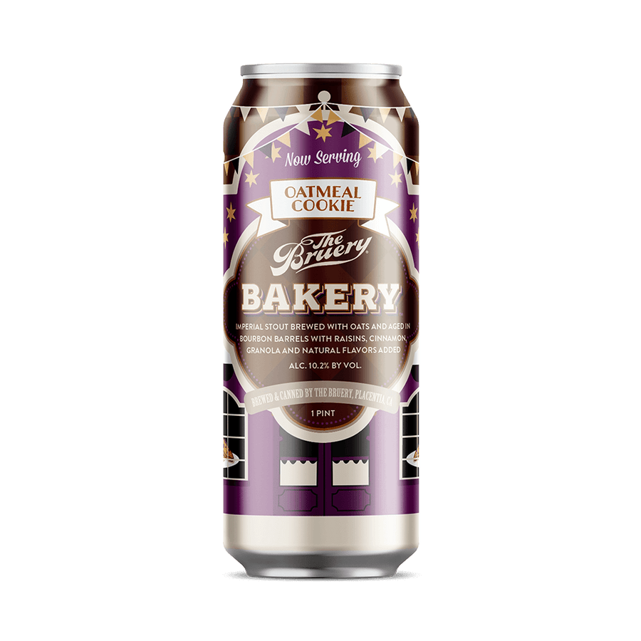 Bakery: Oatmeal Cookie - 16oz. Can