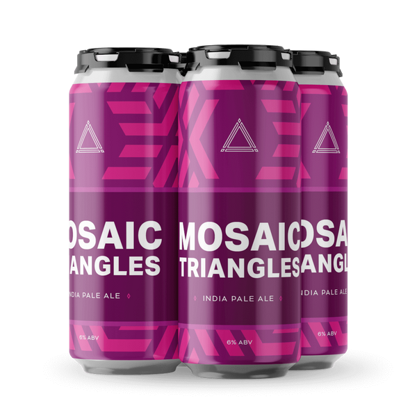 Mosaic Triangles (Triple Crossing)