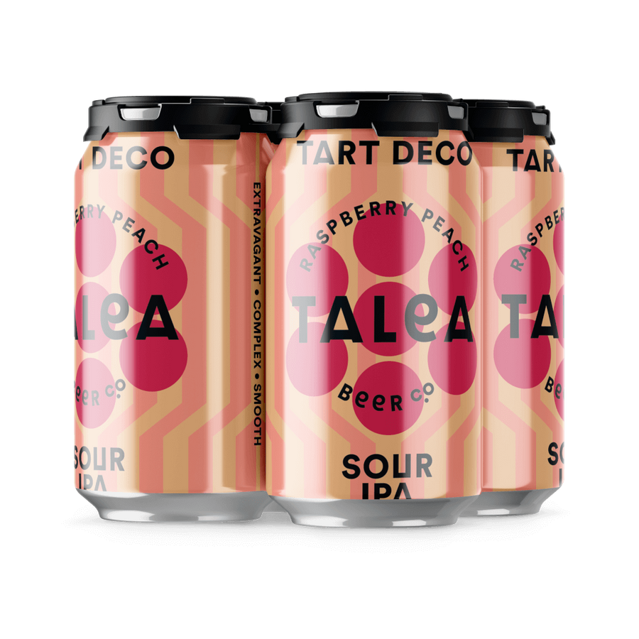 Raspberry Peach Tart Deco (Talea Beer Co.)