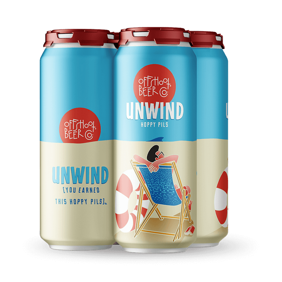 Unwind [you earned this hoppy pils]
