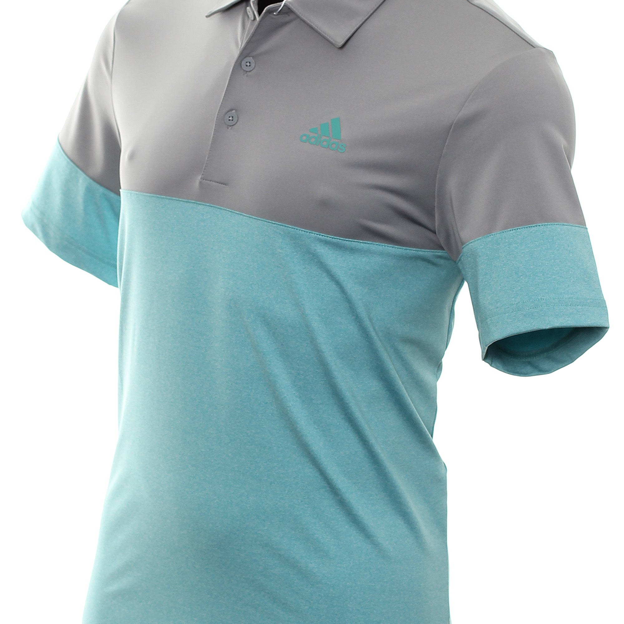 adidas Golf Ultimate365 Heather Blocked LC Shirt DZ5718