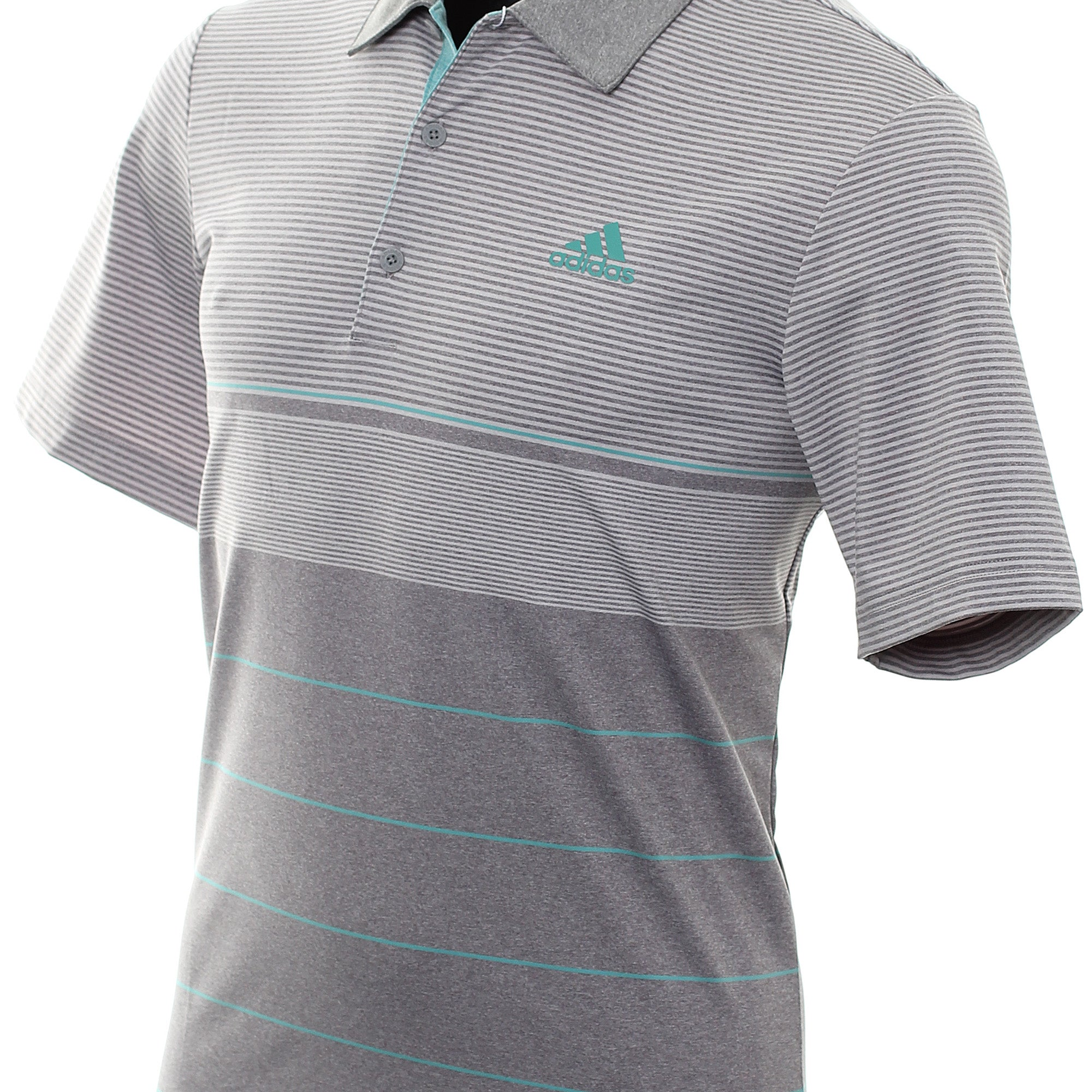 adidas Golf Ultimate365 Heather Stripe Shirt DT3678
