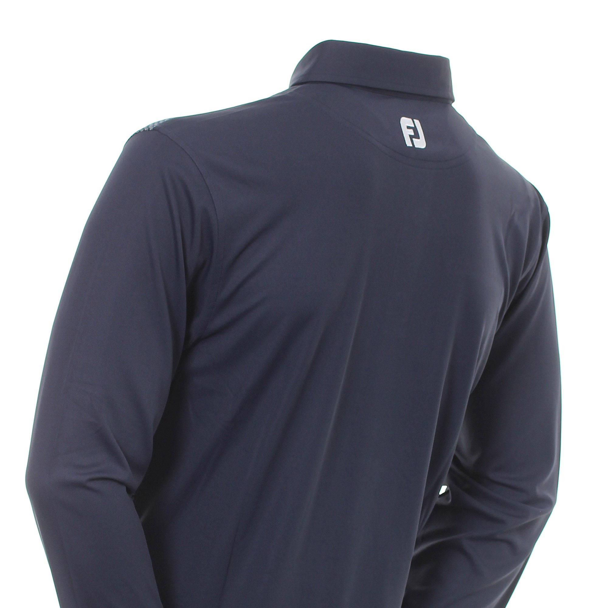 FootJoy Dot Geo Jacquard Long Sleeve Shirt 96956