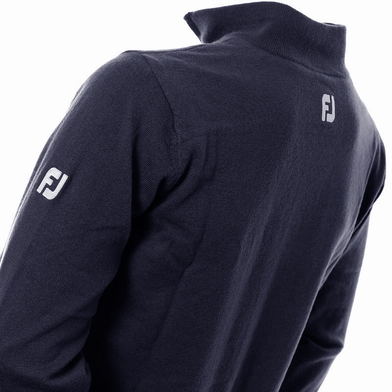 FootJoy Lambswool Lined Zip Sweater
