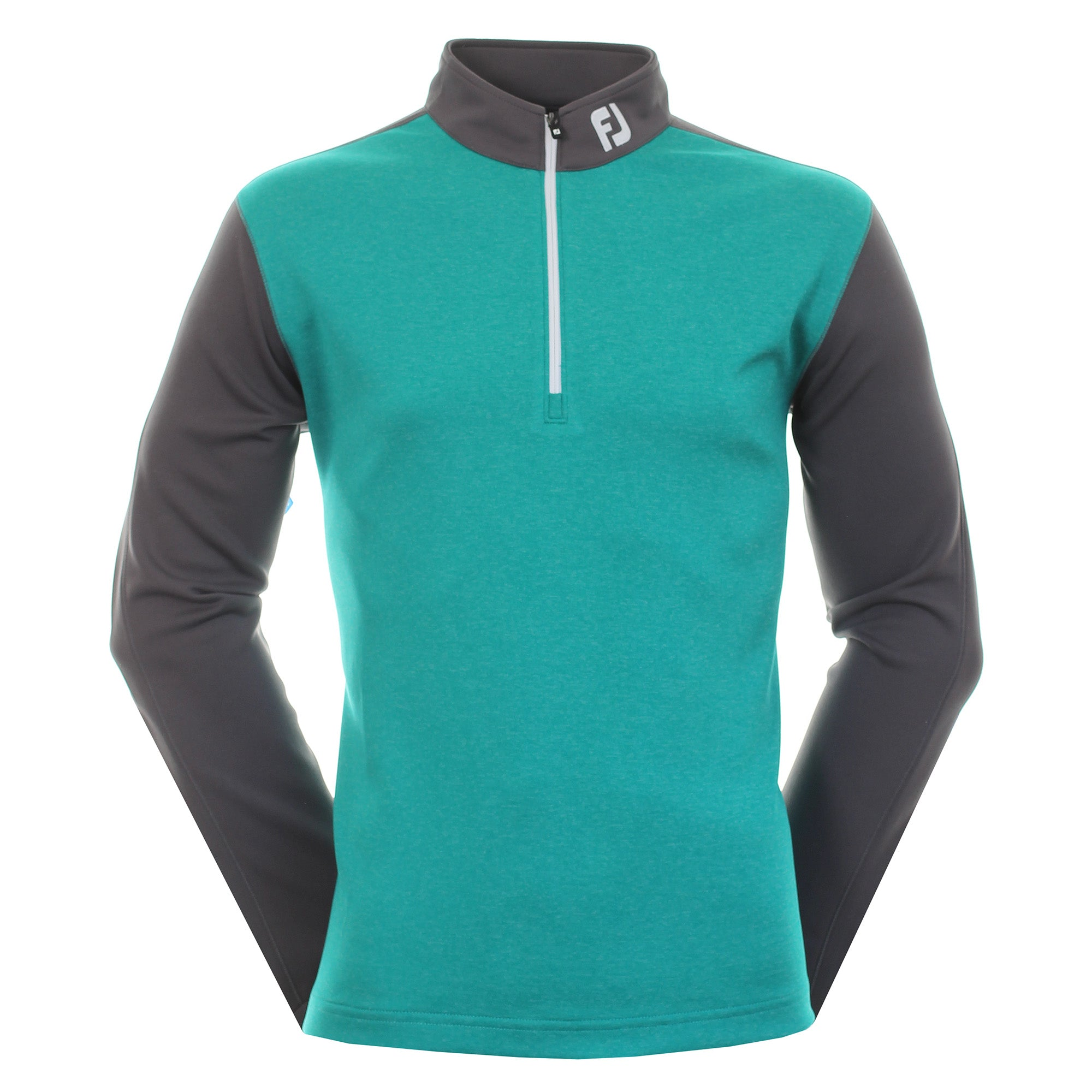 FootJoy Heather Colour Block Chill Out Pullover