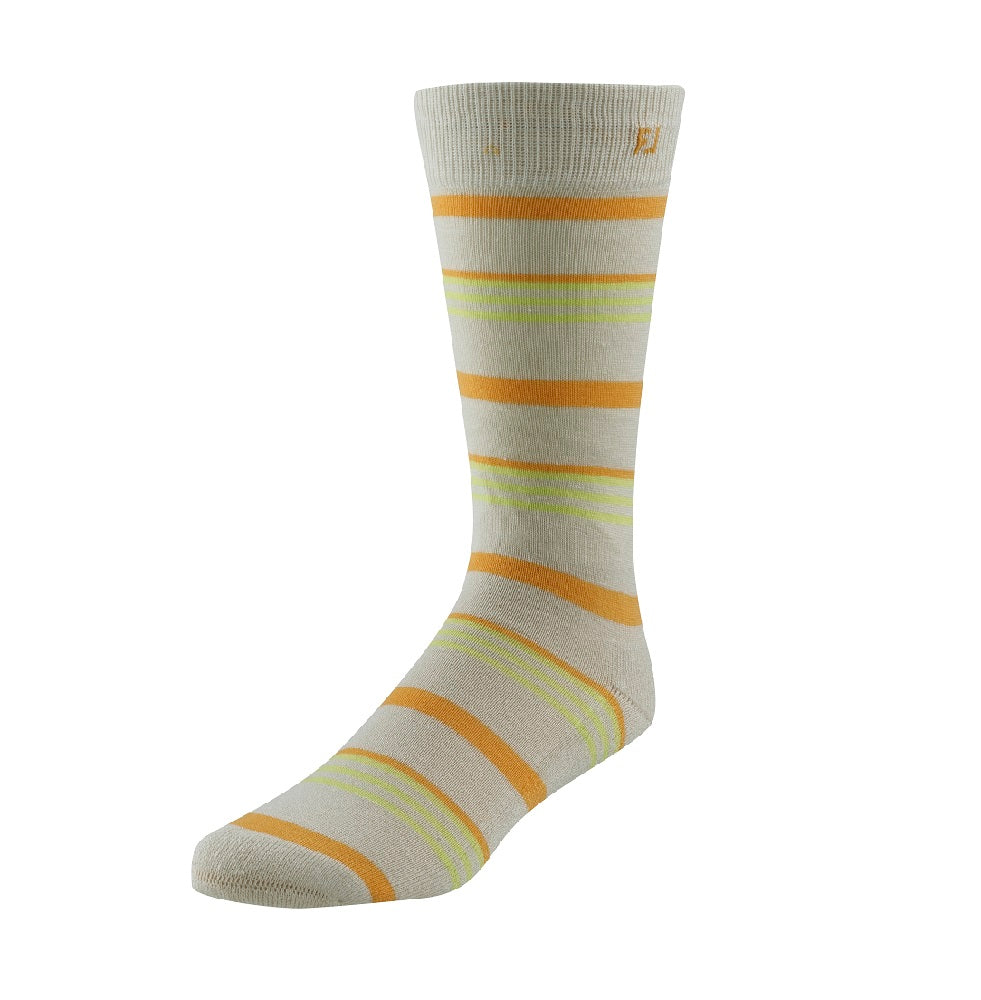 FootJoy ProDry Fashion Crew Striped Golf Socks