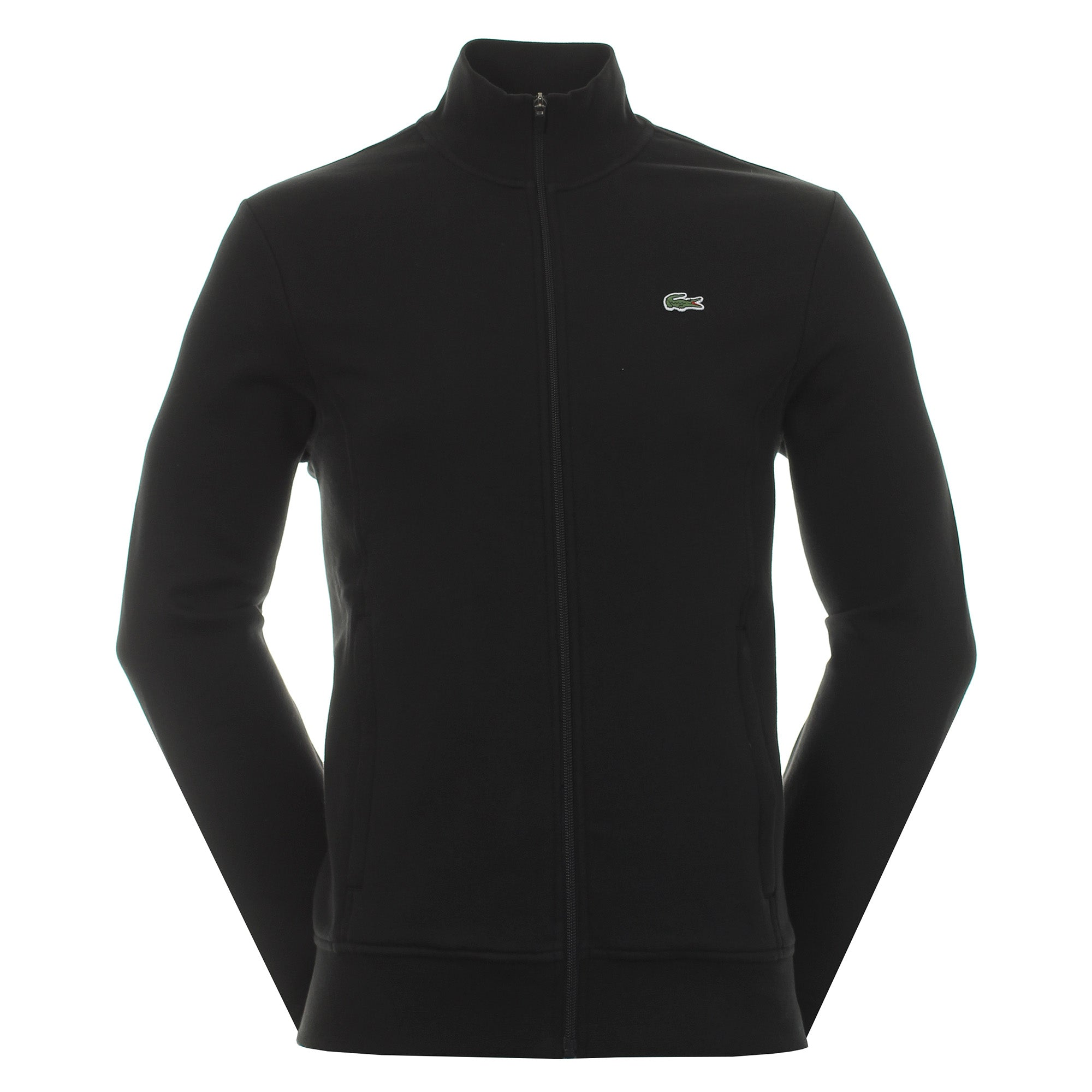 Lacoste Full Zip Fleece Sweater