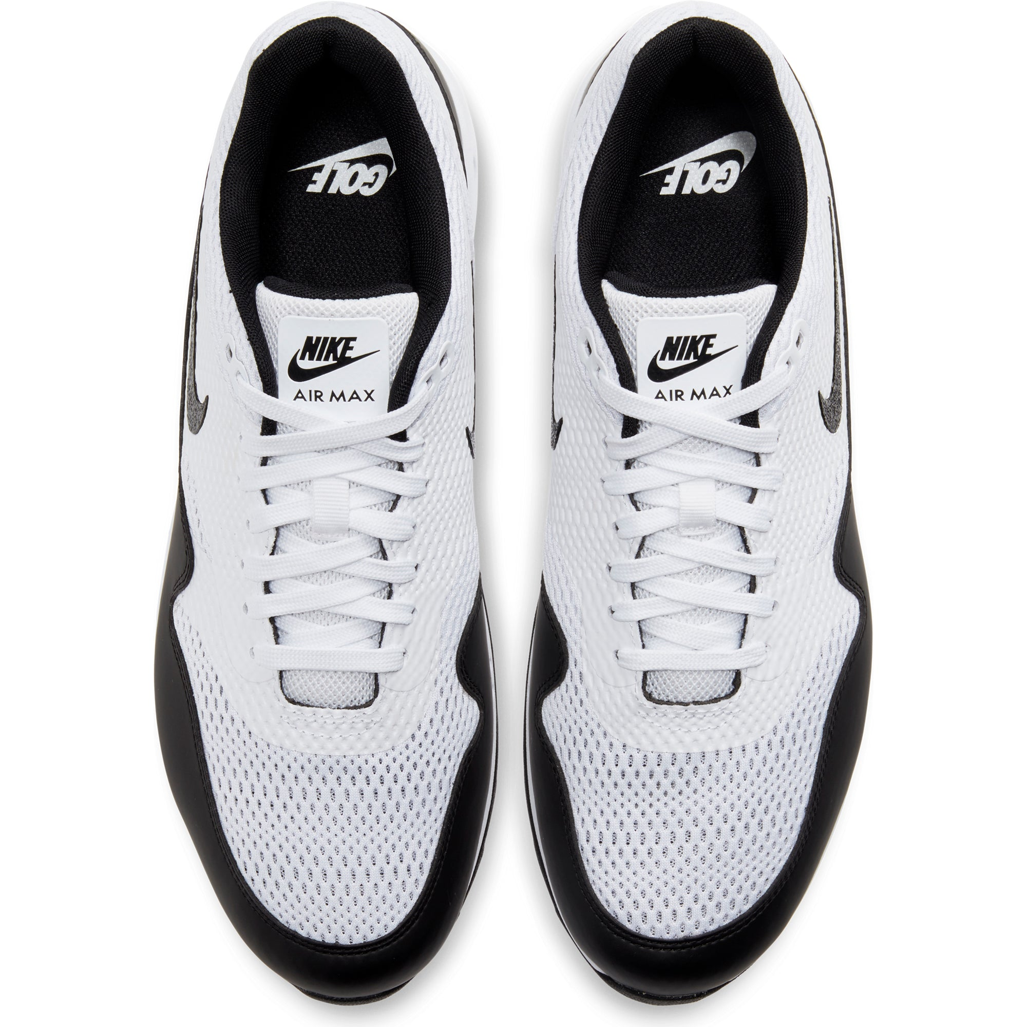 Perpetuo Golpe fuerte lila  Nike Golf Air Max 1 G Mesh Shoes CI7576 White Black 100 | Function18