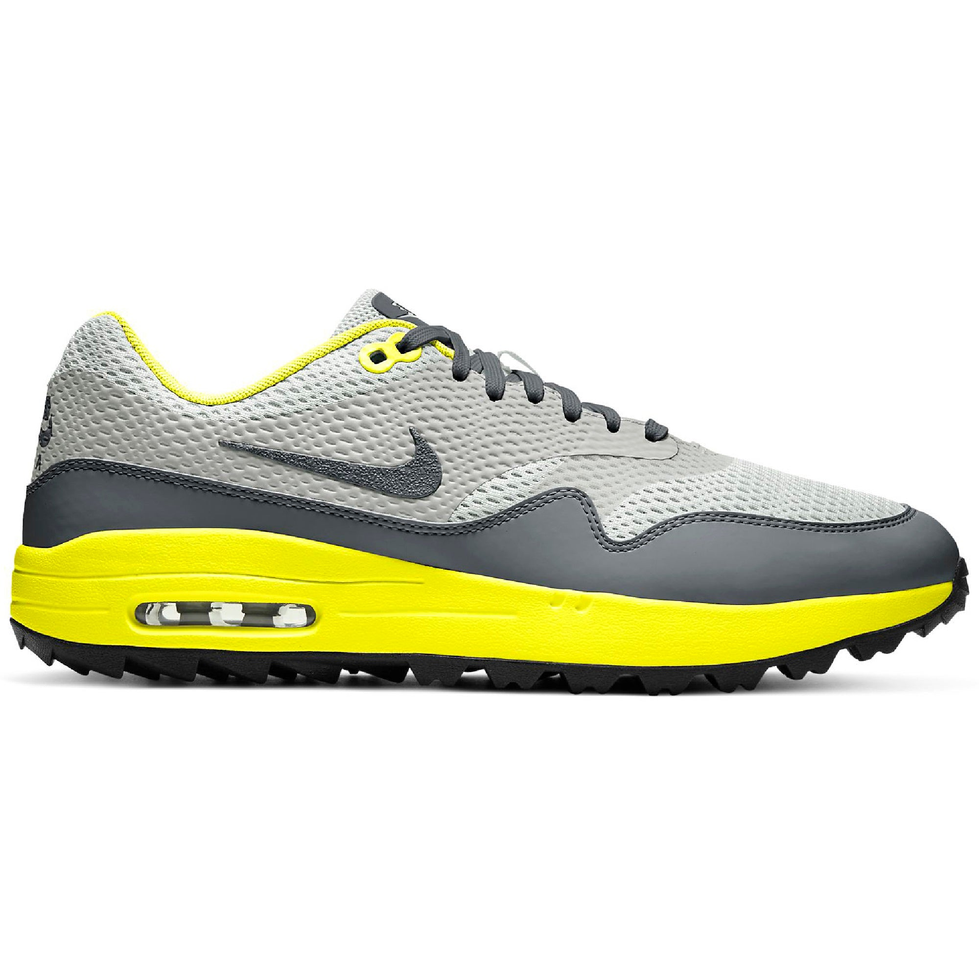 Incompatible espada obispo  Nike Golf Air Max 1 G Mesh Shoes CI7576 Grey Fog Photon Dust Lemon 003 |  Function18