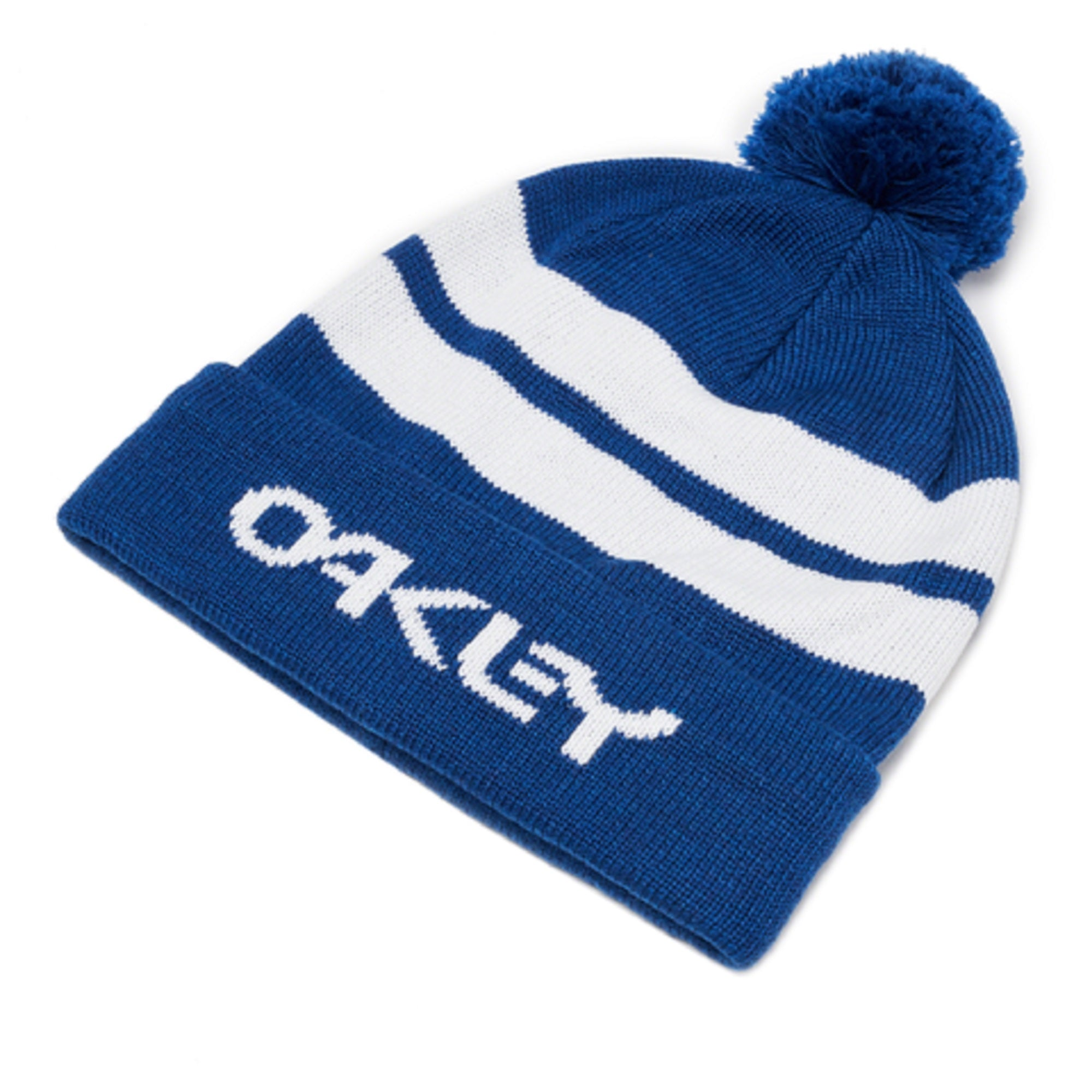 Oakley Golf Striped Bobble Hat