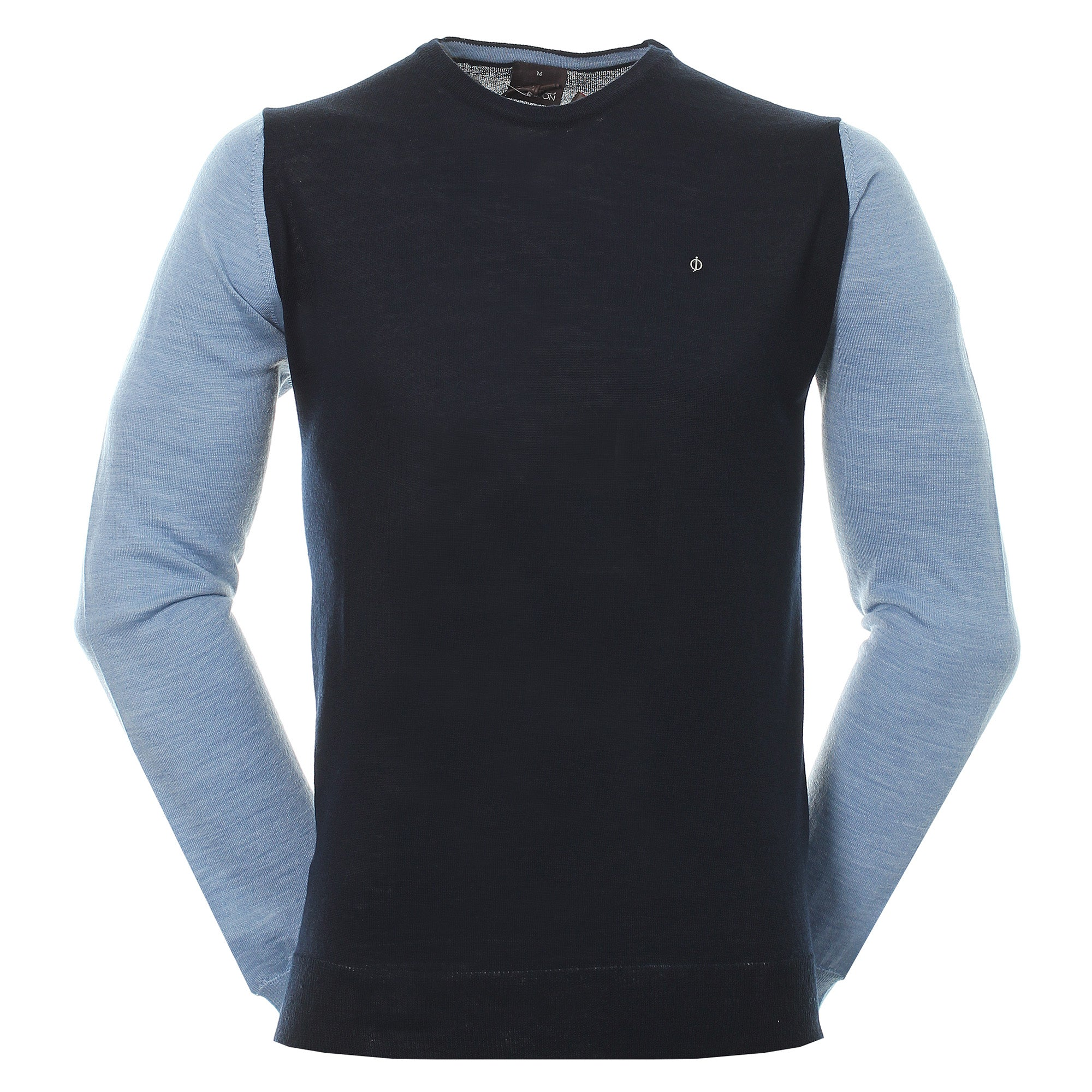 Oscar Jacobson Rast Pin Crew Sweater 65134669