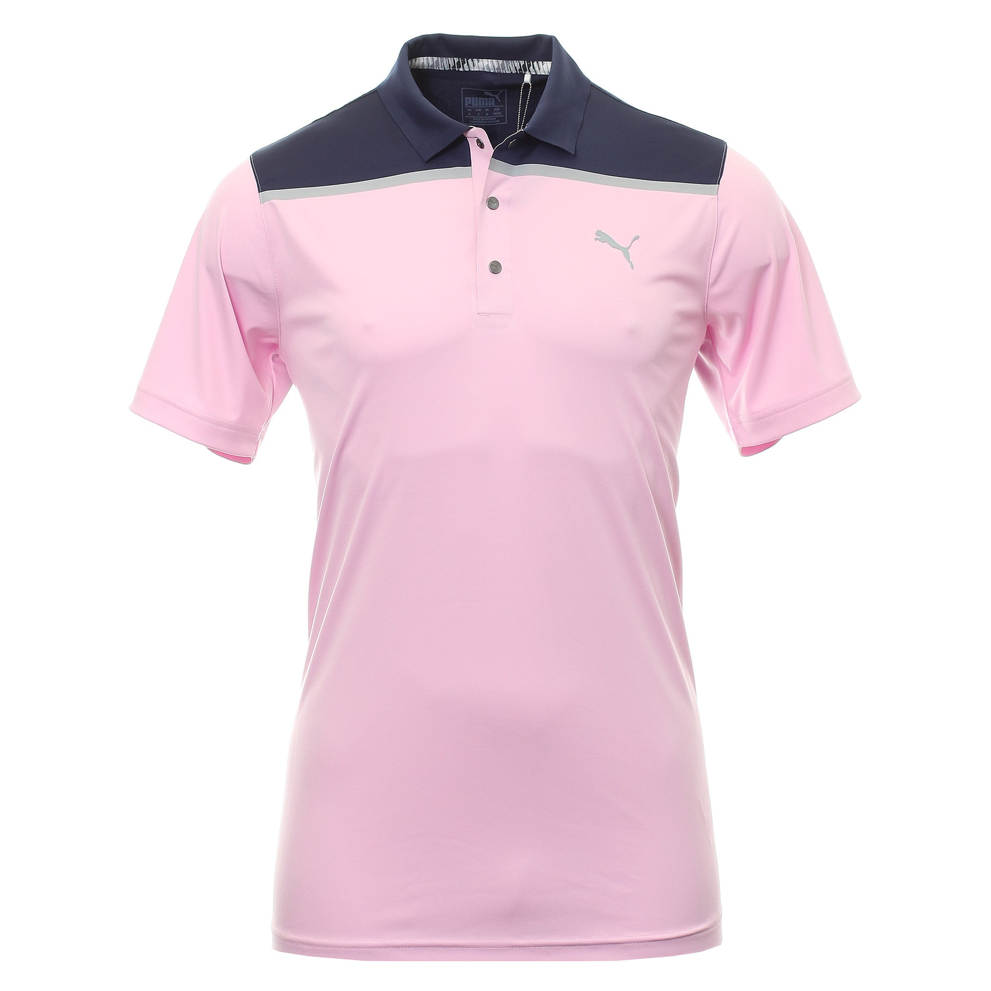 Puma Golf Bonded Colourblock Polo Shirt 577876