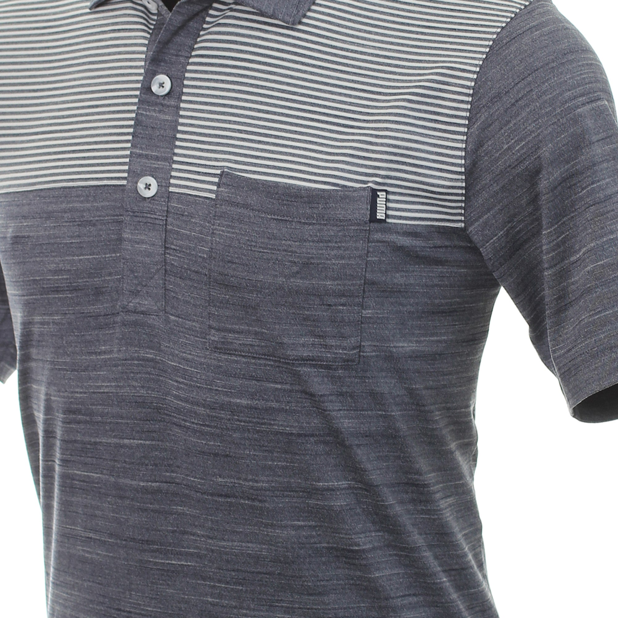 Puma Golf Cloudspun Pocket Polo Shirt