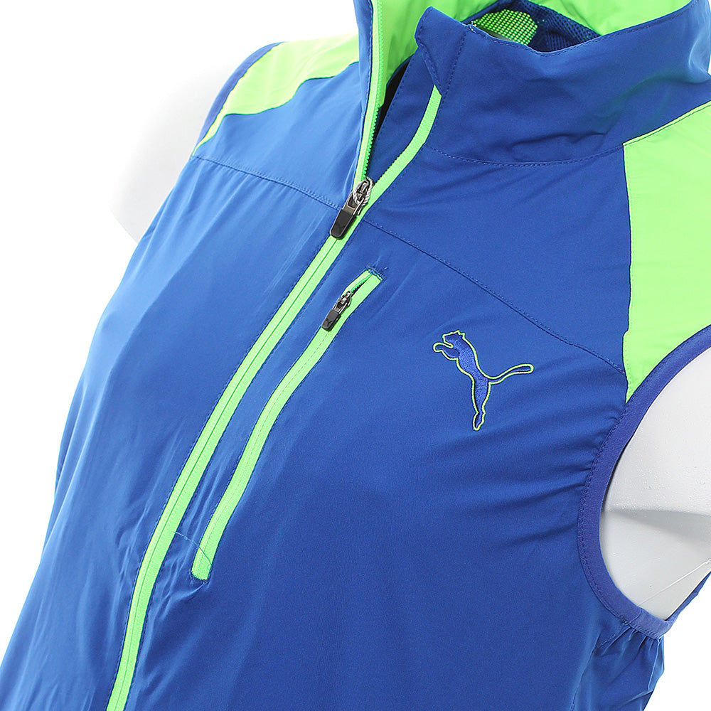 Puma Golf Full Zip Wind Vest 570496