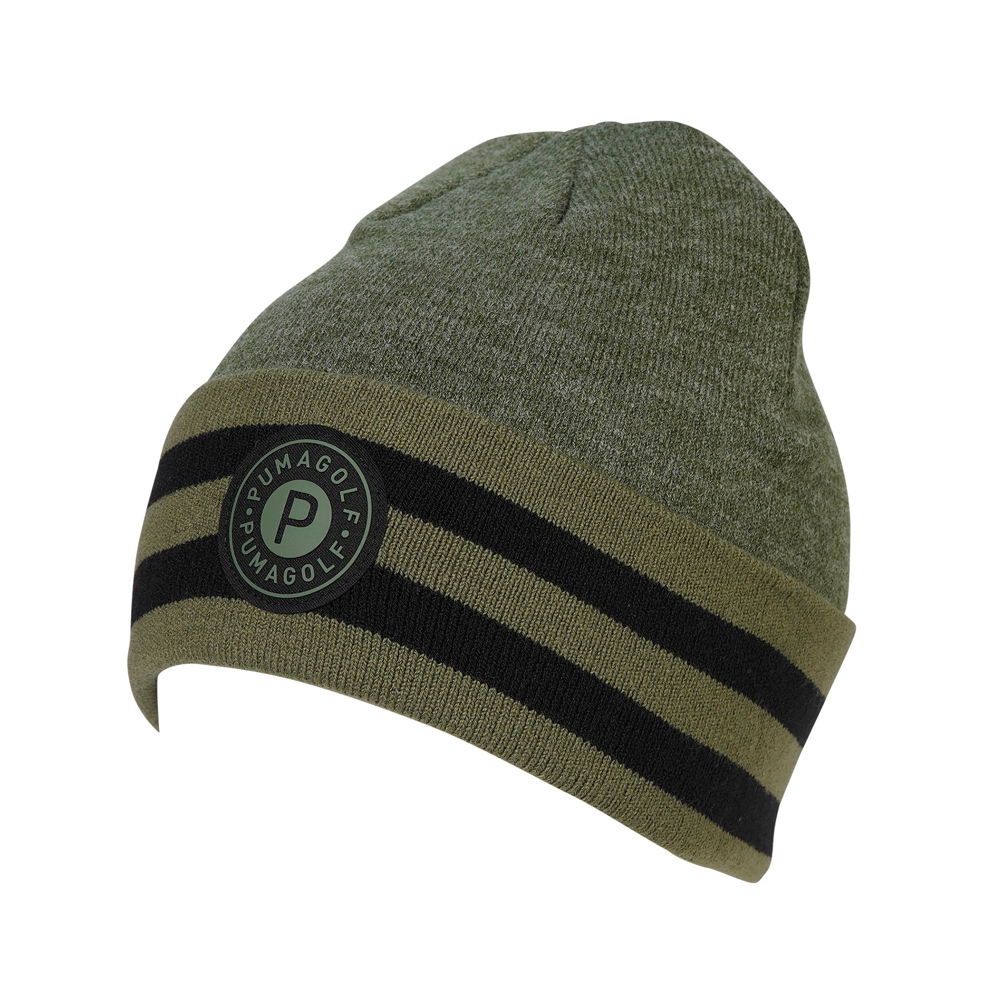 Puma Golf P Circle Patch Beanie